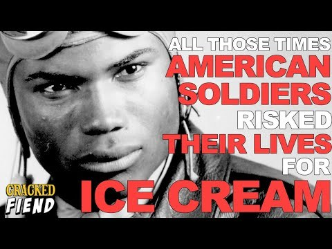 Apparently American Soldiers Would Sometimes Risk Their Lives For Ice Cream