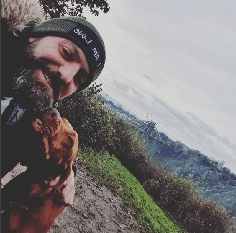 "Guy Starts ""A Walk And a Talk"" Group For Men Who Need Someone To Talk To While Walking Their Dogs 
