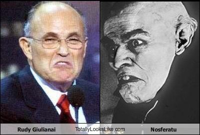 nosferatu politician Rudy Giuliani vampires - 1070761728