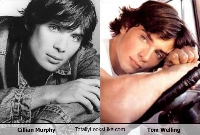 Cillian Murphy TotallyLooksLike.com Tom Welling