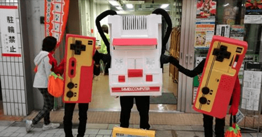 awesome costume Japan halloween video games win parenting - 1075205