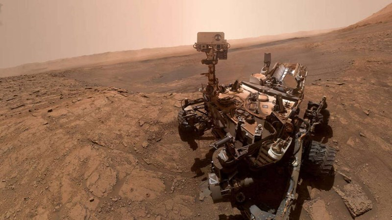 The Curiosity Rover on Mars sent incredible 1.8 billion pixel images back of the surface of the red planet, the highest quality image taken to date. The cover photo