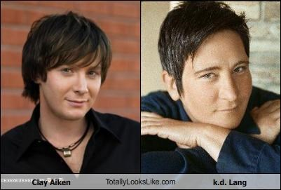 American Idol Clay Aiken country k-d-lang Music reality tv singer