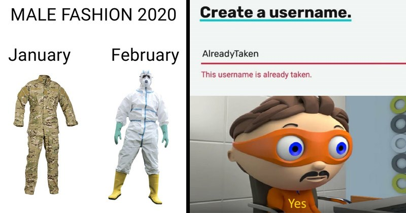 The best dank memes from the past week | MALE FASHION 2020 January military uniform February hazmat suit | Create username. AlreadyTaken This username is already taken. Yes Protegent Antivirus