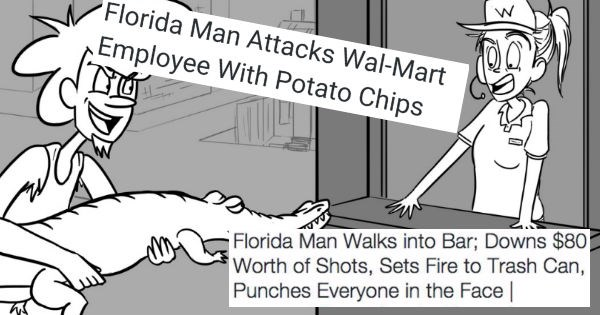 Florida man headlines that are born ready to be memes
