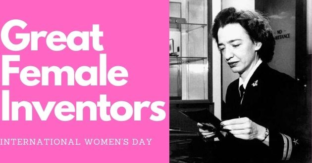 international womens day inventions discovery strong achievements great inspirational greatness | Great female inventors international women's day black and white vintage photo of a woman in a suit