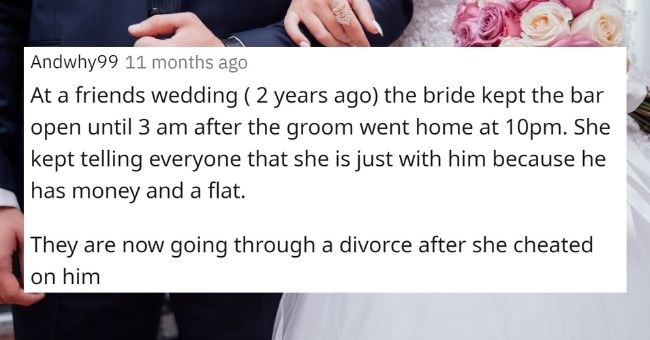 Reddit Wedding Nightmare Doomed start askreddit nighmares funny bride groom guests | what happened at a wedding that made it obvious the bride and groom shouldn't be getting married? are they still together?