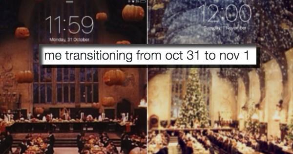 christmas november list halloween - 1087749