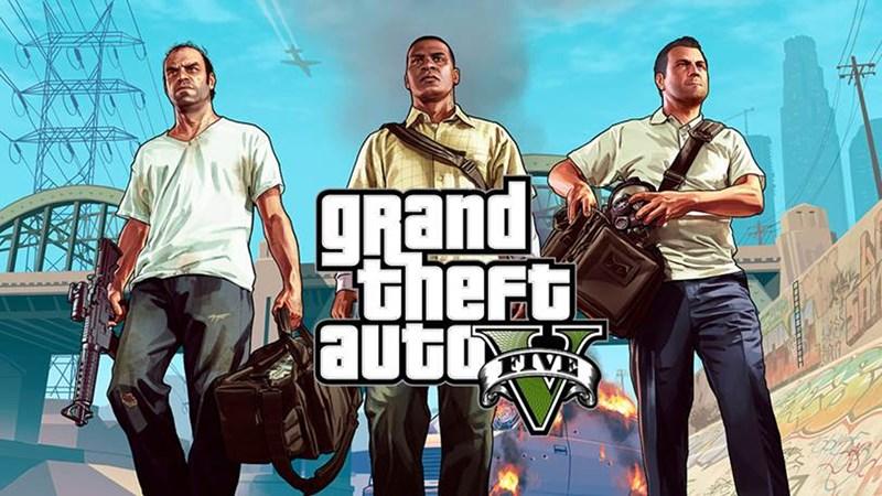 9 Ridiculous Grand Theft Auto V Gifs