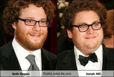 Seth Rogen TotallyLooksLike.com Jonah Hill