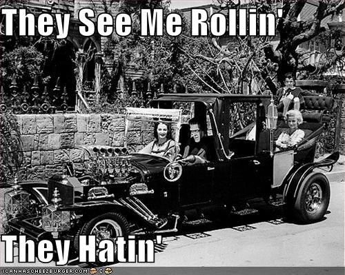hatin,rollin,The Munsters,TV