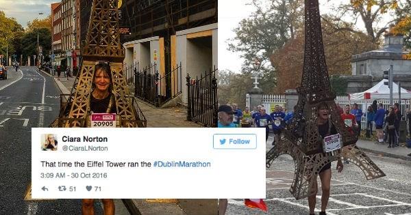 twitter paris awesome reactions marathon eiffel tower win - 1090565