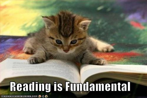 Reading Is Fundamental Cheezburger Funny Memes Funny Pictures