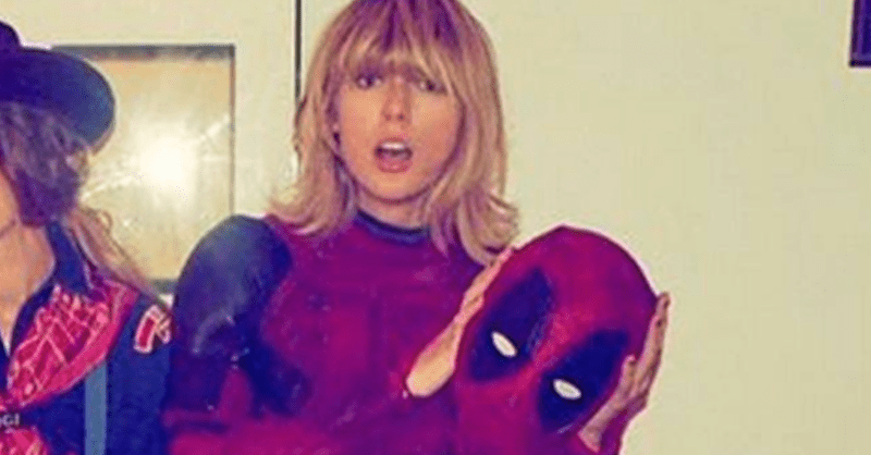 taylor swift news halloween deadpool superheroes - 1091333