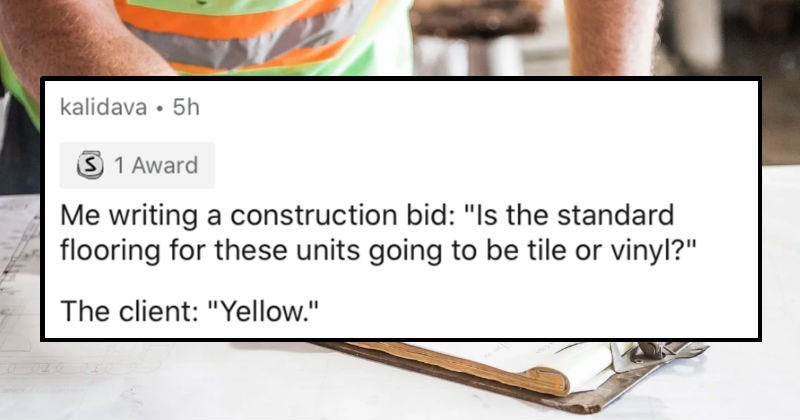 """A collection of the dumbest replies that people have received to serious questions 