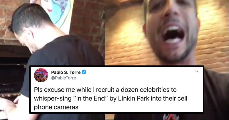 "A celebrity filled video of them singing ""Imagine"" ends up inspiring multiple parodies 