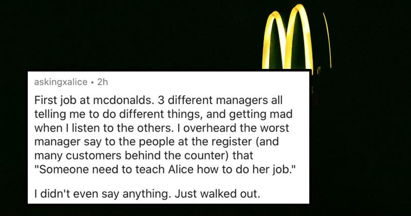 "AskReddit replies to people's ""screw this, I quit!"" stories 