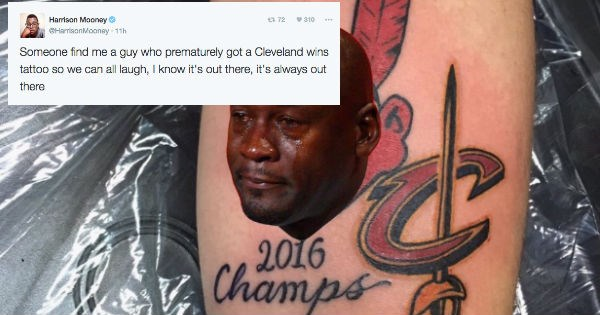 news sports FAIL World Series baseball tattoo reactions instant regrets MLB cleveland mistake - 1103109