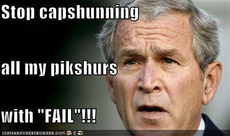 FAIL george w bush president Republicans - 1104582400