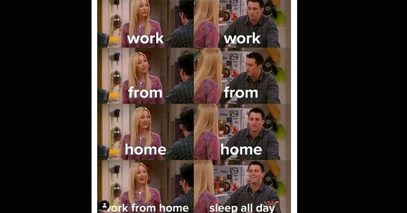 "Funny dank memes from the TV show 'Friends' entitled ""Phoebe Teaching Joey French"" 