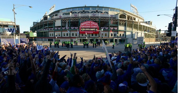 baseball parade chicago - 1108485