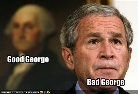 george w bush george washington president Republicans - 1108825856