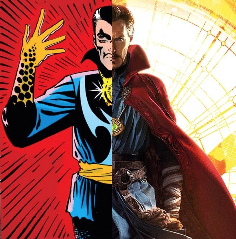 marvel doctor strange avengers - 1110277
