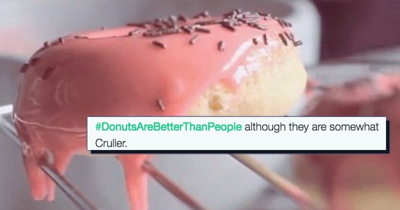 twitter donuts people list puns