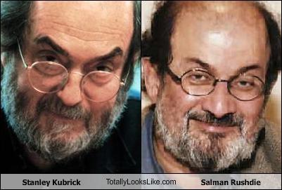 Stanley Kubrick TotallyLooksLike.com Salman Rushdie