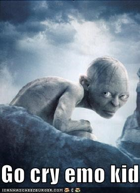 crazy gollum Lord of the Rings sci fi - 1119439104