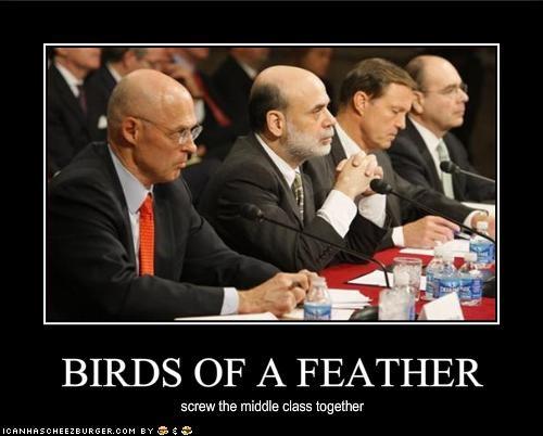 Ben Bernanke Henry Paulson - 1119559424