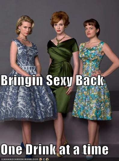 Christina Hendricks,Elizabeth Moss,January Jones,the hawt,TV