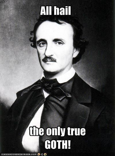 Edgar Allan Poe goths laudanum freaks poets - 1120852224