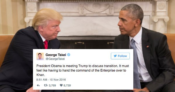 twitter FAIL donald trump barrack obama election 2016 reactions politics - 1132037
