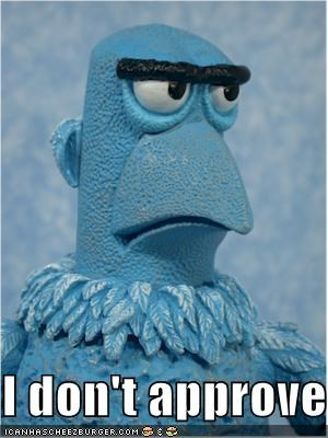 muppets Sam the Eagle TV - 1136465664
