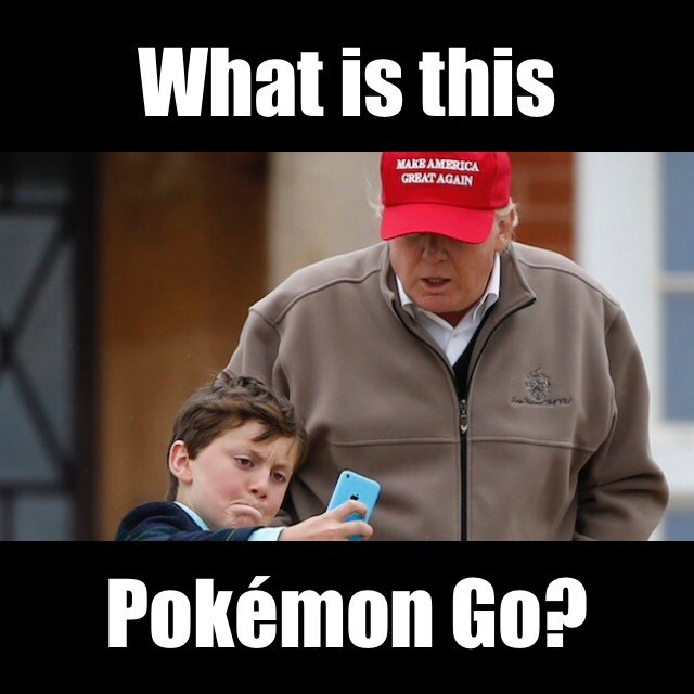 pokemon go trump - 1150469