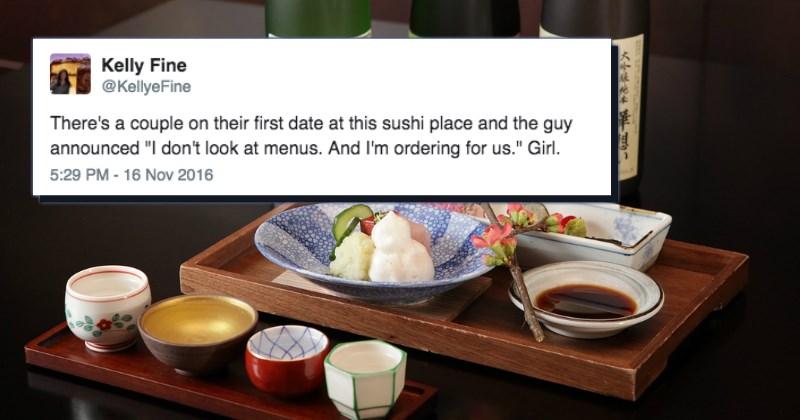 twitter overheard FAIL list sushi dating - 1156357