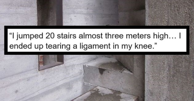truth or dare askreddit reveal nsfw games | LinhOrcutt 71 points 8 hours ago jumped 20 stairs almost 3 meters height think stupid tore ligament knee.