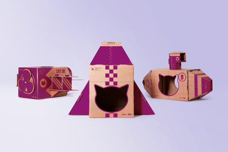 "New Ad Encourages Cats' Curiosity And Indoor Play With ""Curiosity Boxes"" 