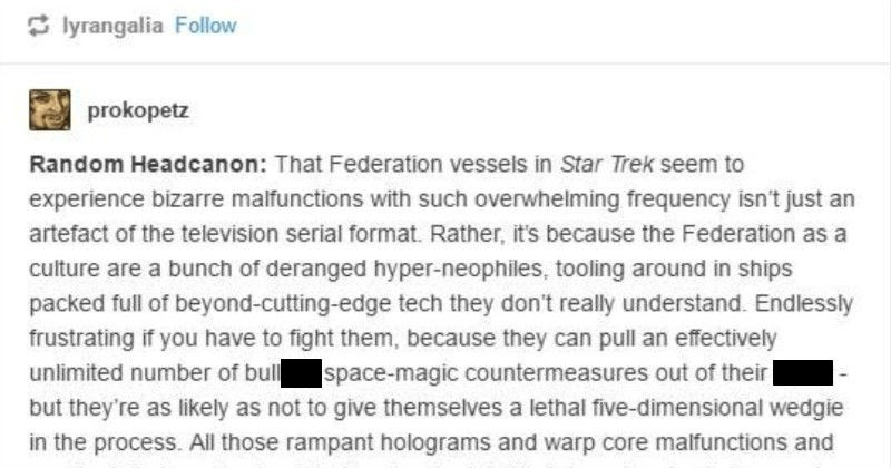 "Funny Tumblr thread points out that humans are team, ""hold my beer."" 