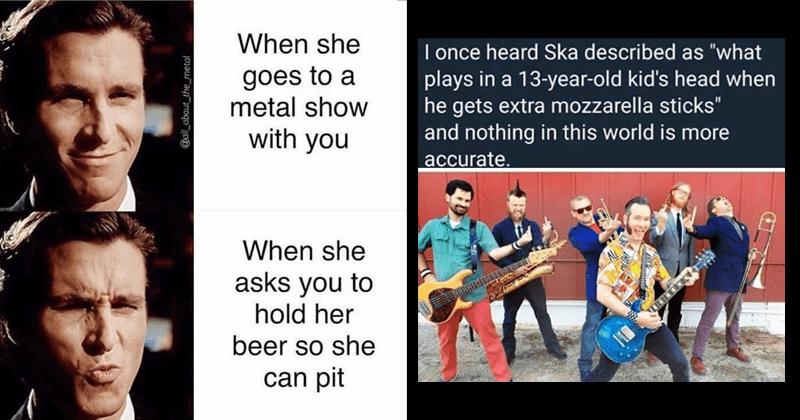 27 More Metal Memes For The Rockers Memebase Funny Memes