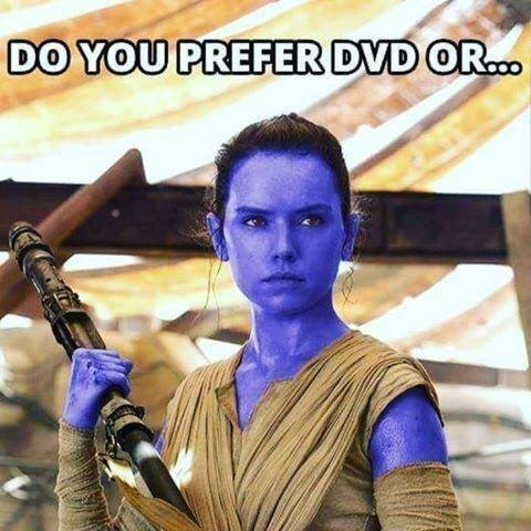 collection of funny bad jokes | Person - DO PREFER DVD OR.. blue ray
