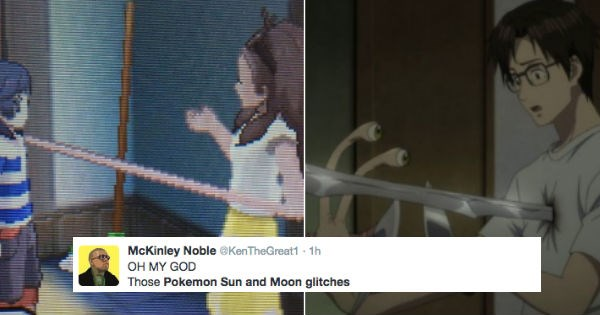 Pokémon,twitter,FAIL,Video Game Coverage,pokemon sun and moon,reactions,glitches,video games