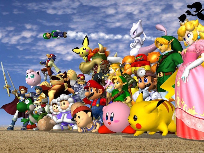 super smash bros super smash bros mele - 1174021