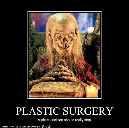 ewjust-ew michael jackson plastic surgery The Crypt Keeper - 1174868224