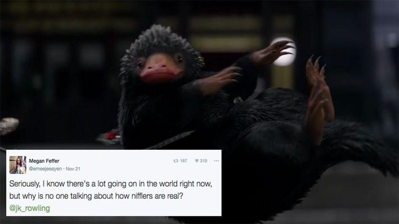 Harry Potter reactions fans funny jk rowling twitter fan theory - 1177605