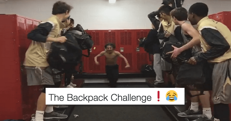 twitter school students list challenge Video backpack - 1179653