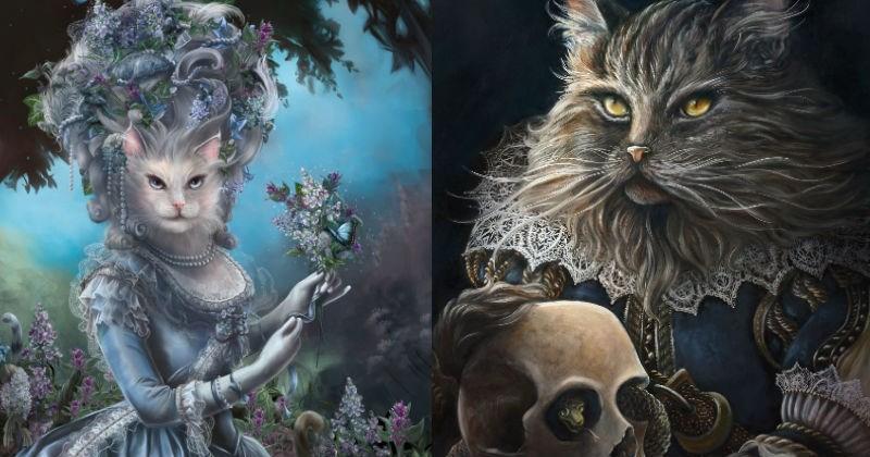 art history icons Cats - 1180933