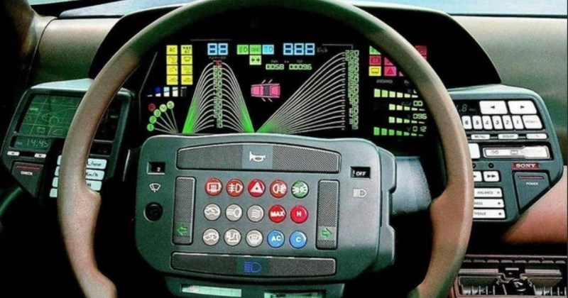 A collection of very cool steering wheels.