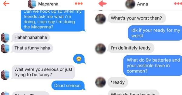tinder conversation texting dating